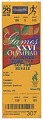 View Ticket for 1996 Summer Olympics athletics event owned by Carl Lewis digital asset number 0