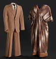View Dress worn by Isabel Sanford as Louise Jefferson on The Jeffersons digital asset number 1