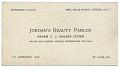 View Business card of Jordan's Beauty Parlor digital asset number 0