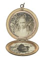 View Locket with photographs of Harriette and Harry T. Moore digital asset number 3