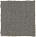 View Quilt made from gray, black, brown, blue, and red suiting samples digital asset number 1