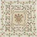 View Red and green applique top for a bedcover digital asset number 0