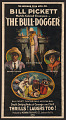 View Three-sheet film poster for The Bull Dogger digital asset number 0