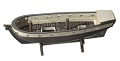 View Folk art model of a slave ship on stand digital asset number 0