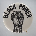 View Pinback button with Black Power fist digital asset number 0