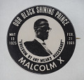 View Pinback button featuring Malcolm X digital asset number 0
