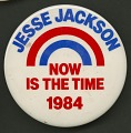 View Pinback button for Jesse Jackson's 1984 presidential campaign digital asset number 0