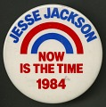 View Pinback button for Jesse Jackson's 1984 presidential campaign digital asset number 1