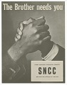 View Flyer promoting Student Nonviolent Coordinating Committee(SNCC) digital asset number 0