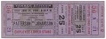 View Ticket to a boxing match between Floyd Patterson and Ingemar Johansson digital asset number 0