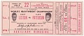 View Ticket to a championship boxing match between Floyd Patterson and Sonny Liston digital asset number 0