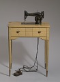 View Singer sewing machine and table from Mae's Millinery Shop digital asset number 0