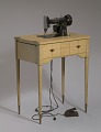 View Singer sewing machine and table from Mae's Millinery Shop digital asset number 1