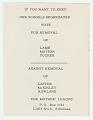 View Flier with segregationist voting guide digital asset number 0