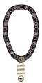 View Ceremonial IBPOEW collar received by Laura O. B. Frazier digital asset number 0