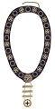View Ceremonial IBPOEW collar received by Laura O. B. Frazier digital asset number 2