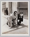 View Photograph of Jack Oakie and Jesse Owens digital asset number 0