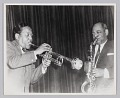 """View Photograph of Harry """"Sweets"""" Edison and Coleman Hawkins digital asset number 0"""
