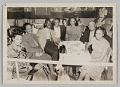 "View Photograph of Bill ""Bojangles"" Robinson seated with a group at a table digital asset number 0"