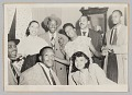 View Photograph of a Laura Cathrell and a group of men and women at a party digital asset number 0