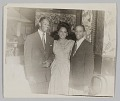 View Photograph of Birdie Warfield Edison with two unidentified men digital asset number 0