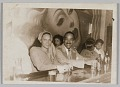 View Photograph of Birdie Warfield Edison an unidentified man seated at a bar digital asset number 0