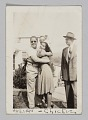 View Photograph of a man, Julian, a woman, Chickie Collins, and two men digital asset number 0