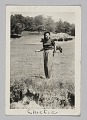 View Photograph of a woman, Chickie, standing in a field digital asset number 0