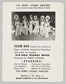 View Advertisement card for Club 845's Gala Holiday Revue digital asset number 2
