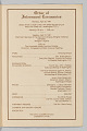 View Program for the interment services for Joe Louis digital asset number 2
