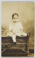 View Photographic print of an unidentified child digital asset number 0