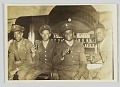 View Photographic print of four unidentified men in military uniforms digital asset number 0