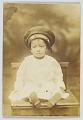 View Photographic postcard with image of a small child digital asset number 0