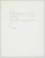 View A letter from Loonis McGlohon to Maxine Sullivan digital asset number 0