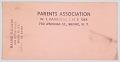 View Document for the Parents Association of W. J. Damrosch Junior High School digital asset number 0