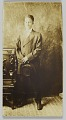 View Photographic postcard of a man in a double-breasted jacket digital asset number 0