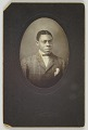 View Photographic print of an unidentified man digital asset number 0