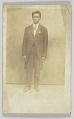 View Photographic postcard of a man in a suit digital asset number 0