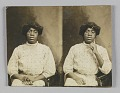 View Stereograph card of of an unidentified woman digital asset number 0