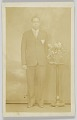 View Photographic postcard of a man digital asset number 0