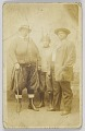 View Photographic postcard of three unidentified women digital asset number 0