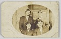 View Photographic postcard of four unidentified men digital asset number 0