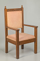 View Pulpit chair from Saint Augustine Catholic Church of New Orleans digital asset number 4