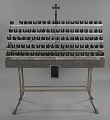 View Votive candle stand with base from Saint Augustine Catholic Church digital asset number 0