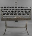 View Votive candle stand with base from Saint Augustine Catholic Church digital asset number 2