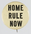 View Pinback button advocating for Home Rule digital asset number 0