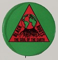 """View Pinback button with the text """"Black Roots The Soul Of The Earth"""" digital asset number 0"""