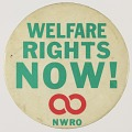 View Pinback button for the National Welfare Rights Organization digital asset number 0