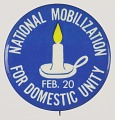 View Pinback buttons for the National Mobilization for Domestic Unity digital asset number 0
