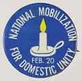 View Pinback buttons for the National Mobilization for Domestic Unity digital asset number 2